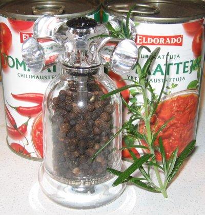 Rosmariini ja Pippurimylly